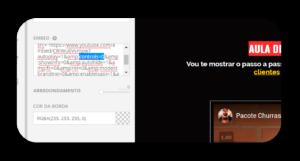 YouTube: Como Desativar a Barra de Navegação no Embed/Incorporado - LASCHUK