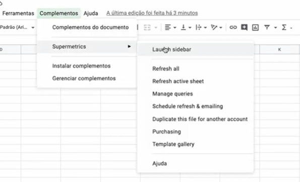 Supermetrics: Como Criar Relatórios Automáticos - Guilherme Laschuk