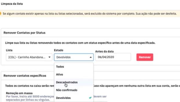 ActiveCampaign: Limpe sua Base e Melhore seus E-mails - Guilherme Laschuk