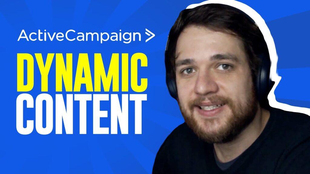 Dynamic Content | ActiveCampaign: Criando E-mails Personalizados - Guilherme Laschuk
