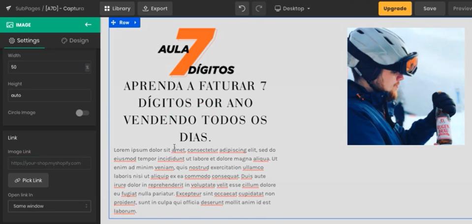 Shopify: Como Criar Landing Pages na Plataforma - Guilherme Laschuk