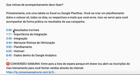 YouTube Capítulos: Como Dividir a Timeline do seu Vídeo - Guilherme Laschuk