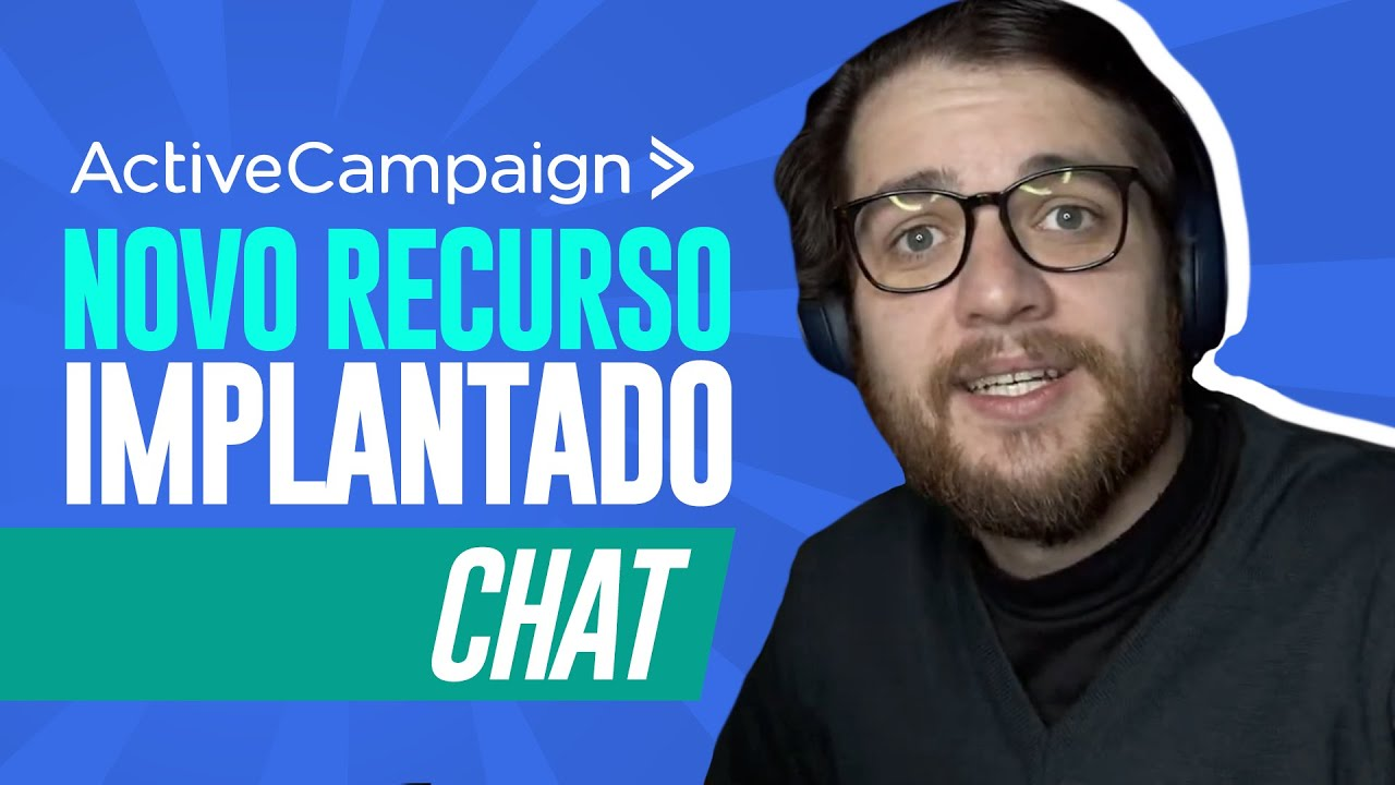 ActiveCampaign: Como Implantar Chat no seu Site - Guilherme Laschuk